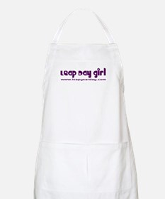 Leap Day Girl BBQ Apron