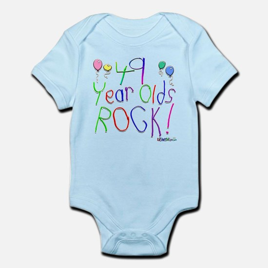 49 Year Olds Rock ! Infant Bodysuit