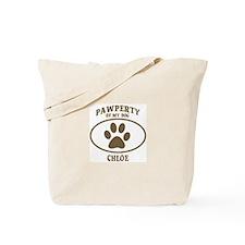 Pawperty of CHLOE Tote Bag