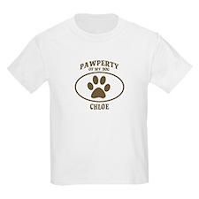Pawperty of CHLOE T-Shirt