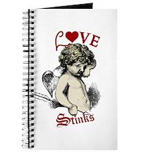 Love Stinks Cupid Valentine Journal