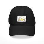 Angel Peace On earth Black Cap