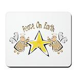 Angel Peace On earth Mousepad