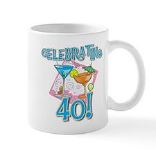 Celebrating 40 Small Mug