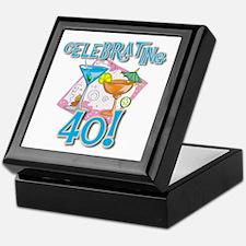 Celebrating 40 Keepsake Box