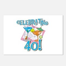 Celebrating 40 Postcards (Package of 8)