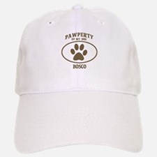 Pawperty of BOSCO Baseball Baseball Cap