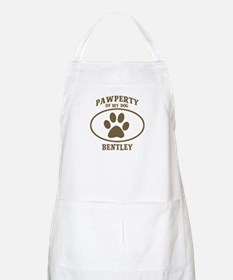 Pawperty of BENTLEY BBQ Apron
