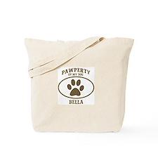Pawperty of BELLA Tote Bag