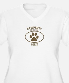 Pawperty of ALLIE T-Shirt