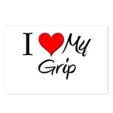 I Heart My Grip Postcards (Package of 8)