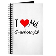 I Heart My Graphologist Journal