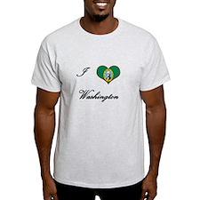 I Love (Heart) Washington T-Shirt