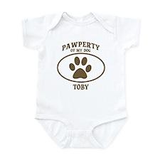 Pawperty of TOBY Infant Bodysuit