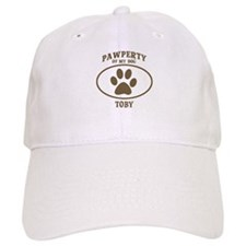 Pawperty of TOBY Baseball Cap