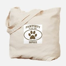 Pawperty of SOPHIE Tote Bag