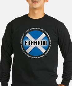 Saltire design_3b Long Sleeve T-Shirt