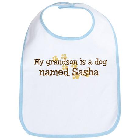 Grandson named Sasha Bib