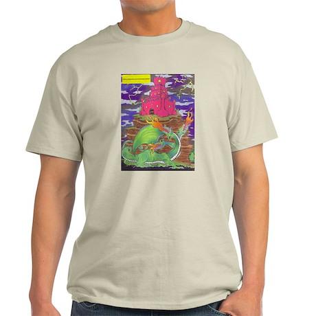 Three Headed Dragon Light T-Shirt