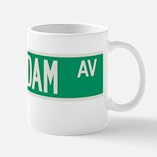 Amsterdam Avenue in NY Mug
