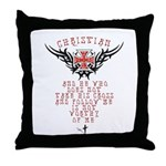Cross Daily Throw Pillow