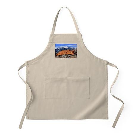 Pikes Peak, Kissing Camels BBQ Apron