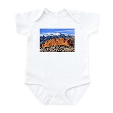 Pikes Peak, Kissing Camels Infant Bodysuit