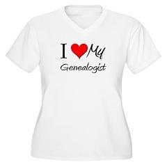 I Heart My Genealogist T-Shirt