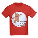 Dancing Bear Kids Dark T-Shirt