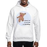 Dancing Bear Hooded Sweatshirt
