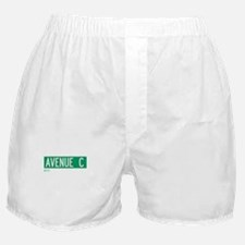 Avenue C in NY Boxer Shorts