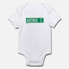 Avenue C in NY Infant Bodysuit
