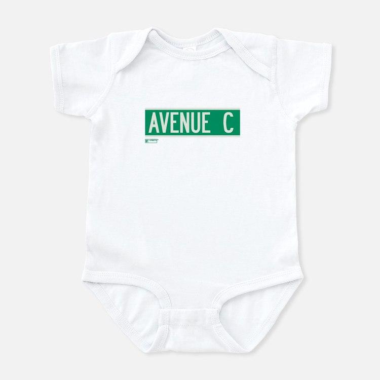 Avenue C in NY Infant Bodysuit