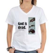 """Nietzsche """"God Is Dead"""" Shirt"""