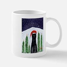Santa Cat Mug