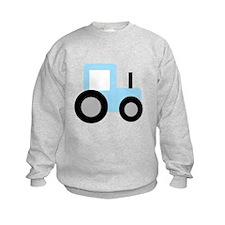 Baby Blue Tractor Sweatshirt