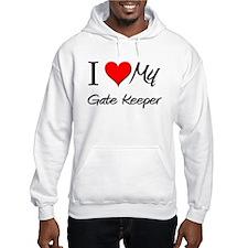I Heart My Gate Keeper Hoodie