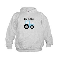 Big Brother Baby Blue Tractor Hoodie