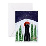 Cat christmas Greeting Cards (20 Pack)