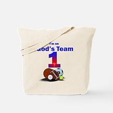 God's Team Tote Bag