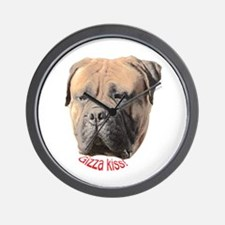 Bullmastiff Wall Clock