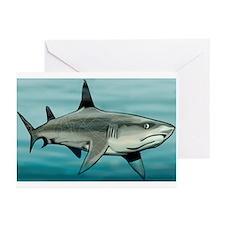 Cute Mean shark Greeting Cards (Pk of 10)