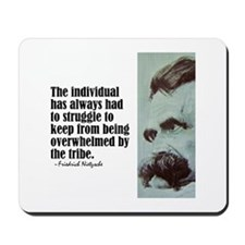 "Nietzsche ""The Individual"" Mousepad"