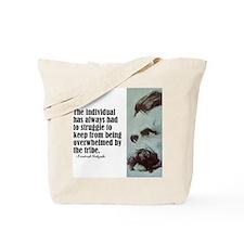 "Nietzsche ""The Individual"" Tote Bag"