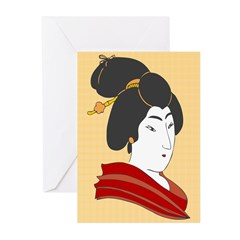 Japanese Geisha Artwork Greeting Cards (Pk of 20)