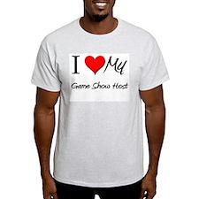 I Heart My Game Show Host T-Shirt
