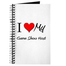I Heart My Game Show Host Journal