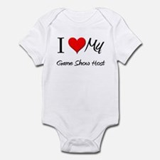 I Heart My Game Show Host Infant Bodysuit