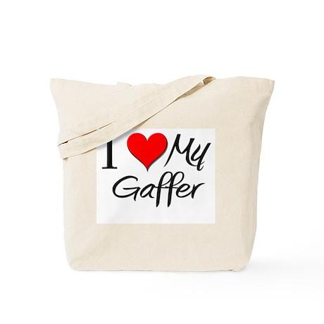 I Heart My Gaffer Tote Bag