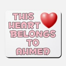 This Heart: Ahmed (F) Mousepad